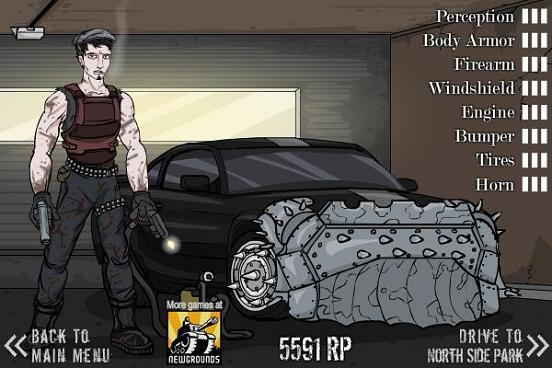 Zombie Escape Car Games